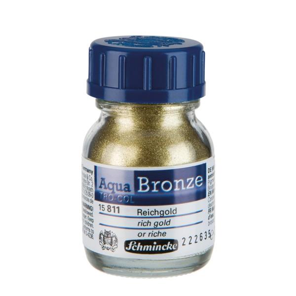 Schmincke Aqua-Bronzen Reichgold | Aquarellfarbe