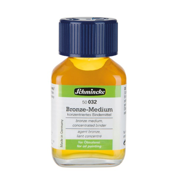 Schmincke Bronze Medium 60 ml  Hilfsmittel