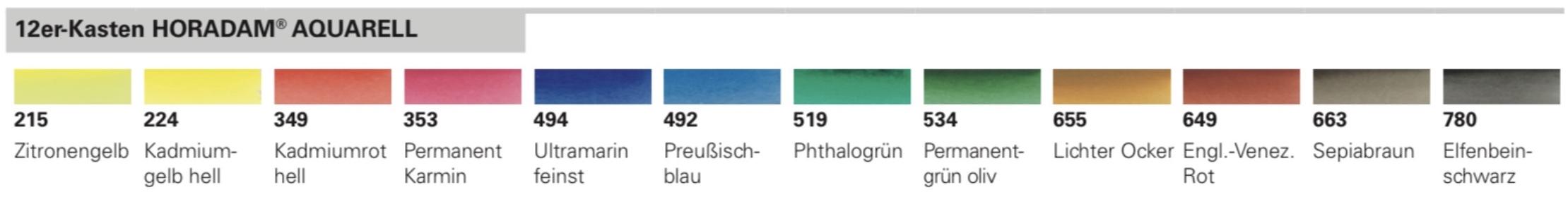 Schmincke-HORADAM-AQUARELL-Farbtoene-12er-Kasten