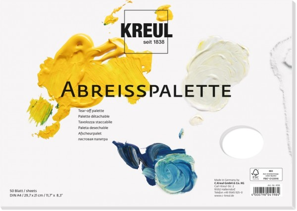 KREUL Abreisspalette | Palette