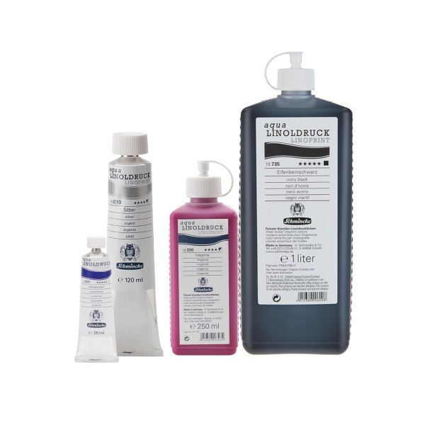Schmincke aqua-LINOLDRUCK | Linolfarbe