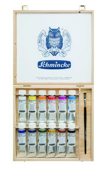 Schmincke AKADEMIE® Öl color Holzkasten  Malkasten
