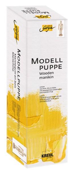 KREUL SOLO GOYA Modellpuppen aus Holz |Gliederpuppe