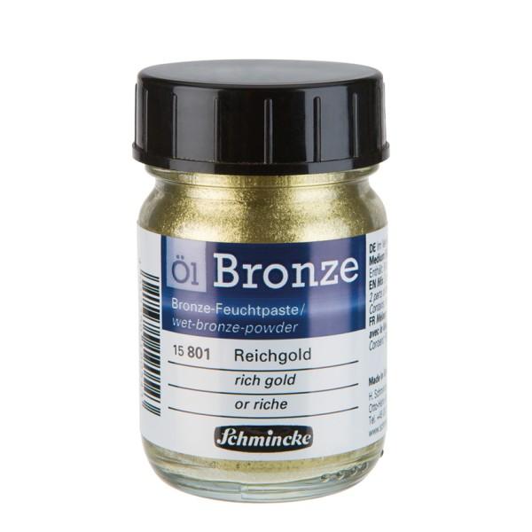Schmincke Öl-Bronzen Reichgold |Ölfarbe