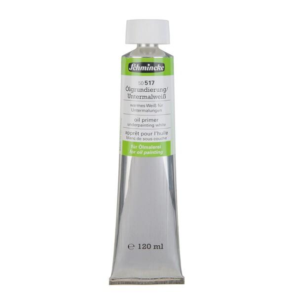 Schmincke Ölgrundierung/Untermalweiß 120ml |Hilfsmittel