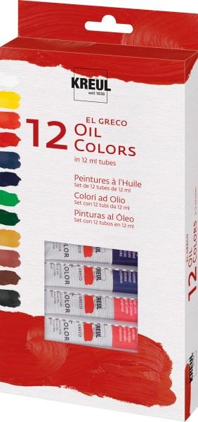 KREUL el Greco Ölfarben Set | Ölfarbe